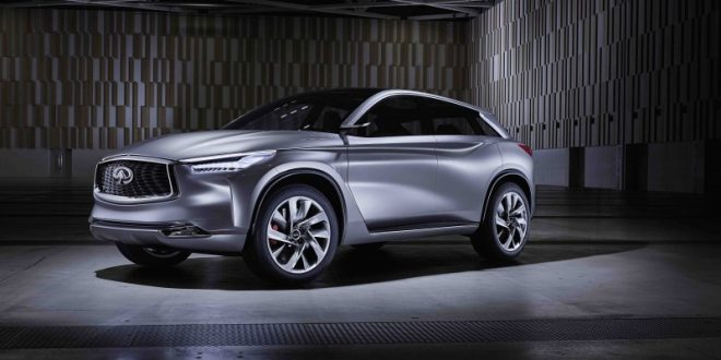 Infiniti Will Preview New Crossover In Detroit