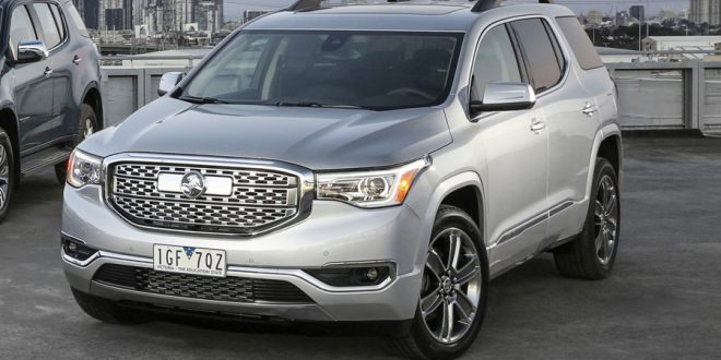GM Invests In Spring Hill Plant For Right-Hand Drive GMC Acadia
