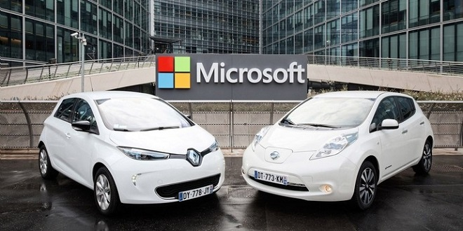 Microsoft and Renault-Nissan to Partner on Connected Driving Technologies