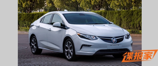 Buick Borrows Chevy Volt For China; Names It Velite