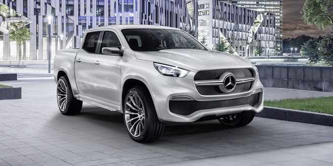 Mercedes-Benz Evaluating Potential for X-Class Mid-Sized Pickup in North America