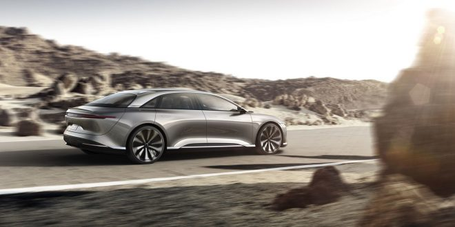 Lucid Targets Tesla With Air Sedan Price