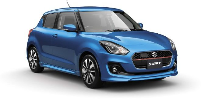 Suzuki Debuts Seventh Generation Swift