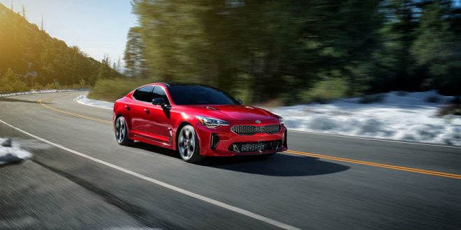 Kia Stinger Will Fly To 60 MPH In 4.9 Seconds