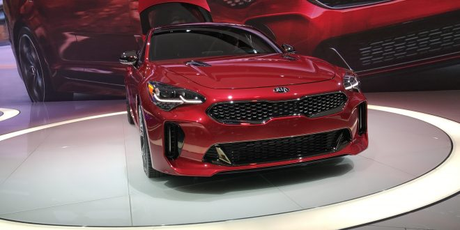 First Look: 2018 Kia Stinger GT