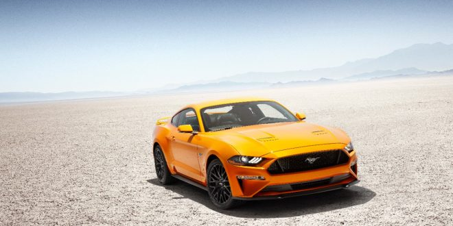 2018 Ford Mustang Adds More Power, 10-Speed, Freshened Design
