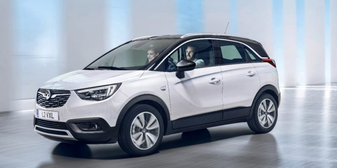 Opel Reveals New Crossland X Small Crossover