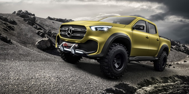 Mercedes Continues to Dismiss Prospect of X-Class Pickup Coming to U.S. Market