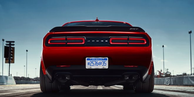 Dodge Challenger SRT Demon Will Feature Wide Body, Drag Radials