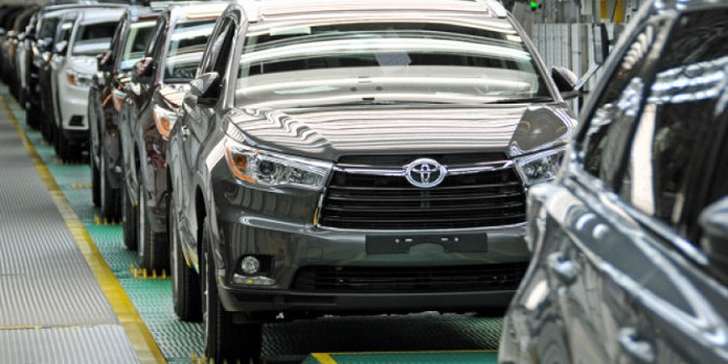 Toyota to Invest $600 Million in Princeton, Indiana Plant to Increase Highlander Production