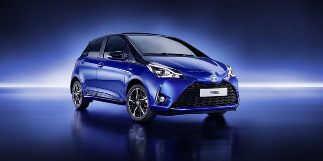 Toyota Previews Updated Euro-Spec Yaris Ahead of Geneva Auto Show