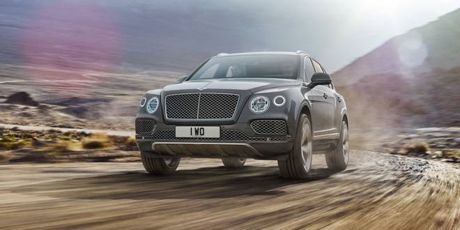 Bentley Hints at Possibility of Electric-Only Small SUV