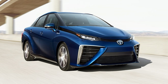 Toyota Recalling 2,800 Mirai Fuel Cell Vehicles