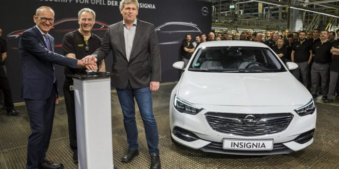Opel Begins Insignia Grand Sport Production