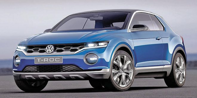 Report: VW T-Roc Launching In North America