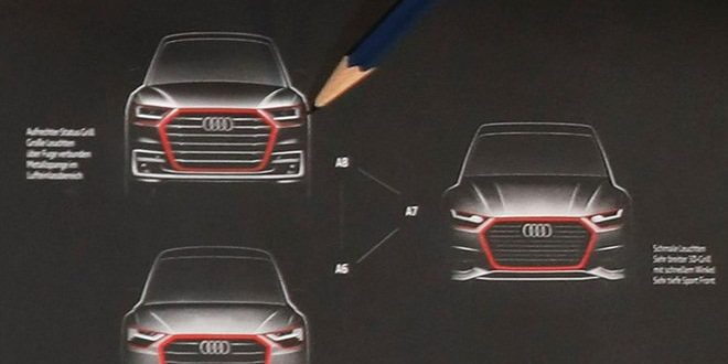 Audi Sketch Previews New A6, A7, A8