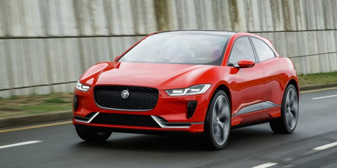 Jaguar I-PACE On Public Roads Ahead Of This Year's Reveal