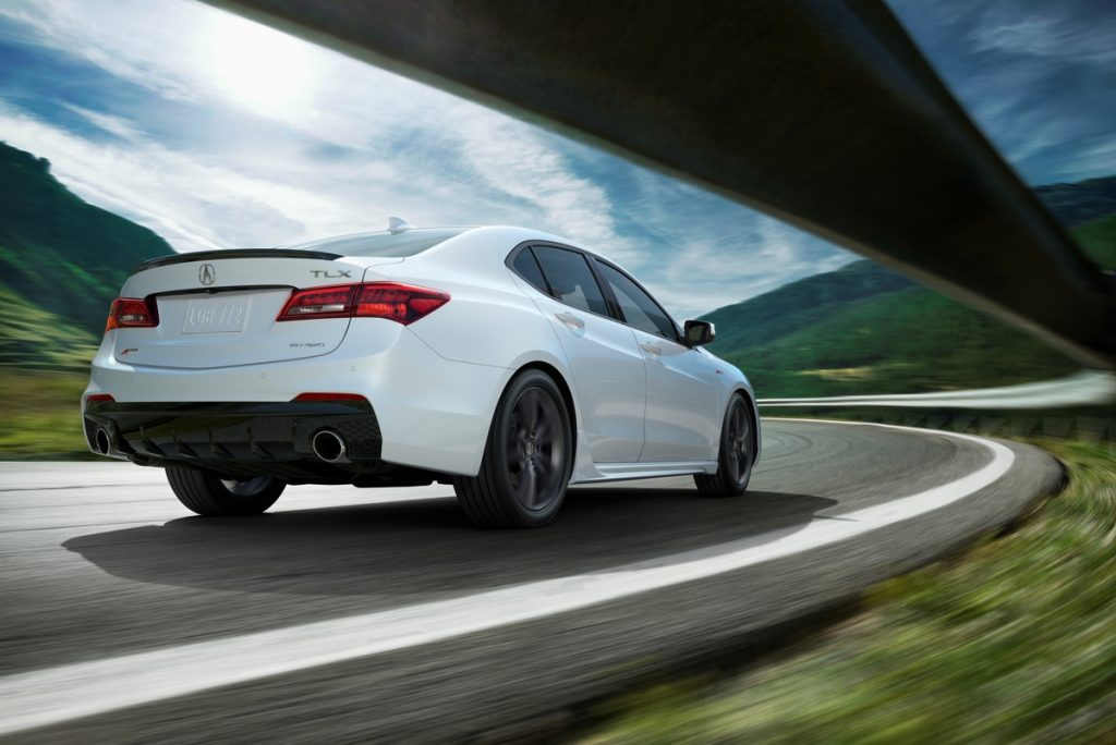 2018 Acura TLX Bows With New Face, More Tech | AutoVerdict