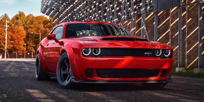 Dodge Challenger Demon Ascends from Hell