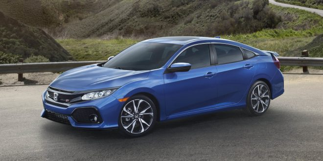 Honda Reveals 2018 Civic Si Sedan