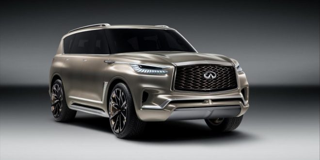Infiniti QX80 Monograph Concept Previews Future SUV Styling