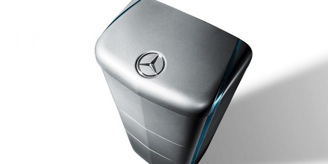 Mercedes-Benz Launches Home Battery Business