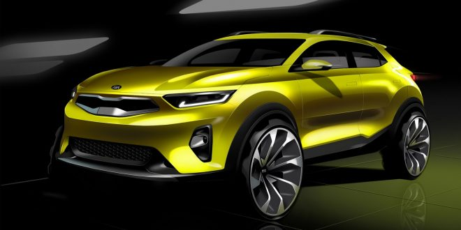Upcoming Kia Stonic Shown In Official Sketches
