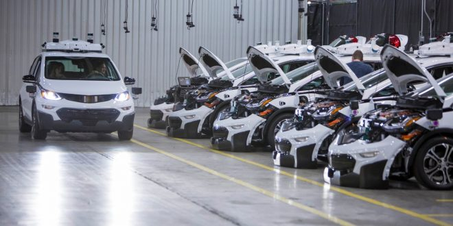 GM Produces First Round Of Autonomous Chevrolet Bolt EV Testers