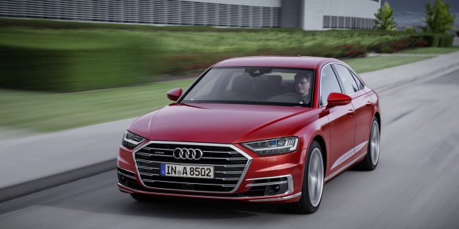 All-New Audi A8 Bows With Sleek Look, Lots Of Tech
