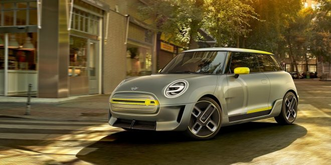 Mini Electric Concept Previews Brand's Electric Future