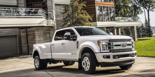 Ford Super Duty Limited Ups Luxury Truck Ante