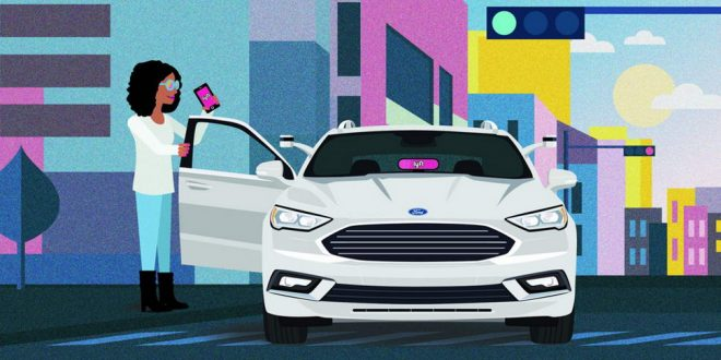 Ford, Lyft Partner On Self-Driving Vehicles