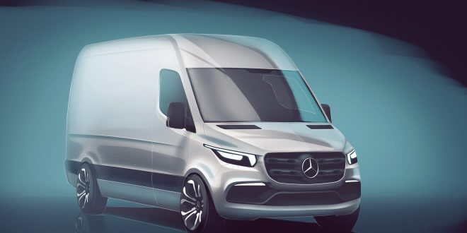 New Mercedes Sprinter Brings New Tech, Electrification to Cargo Vans