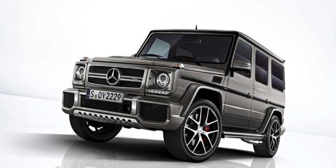 Mercedes-AMG G Class Goes Out With Special Editions
