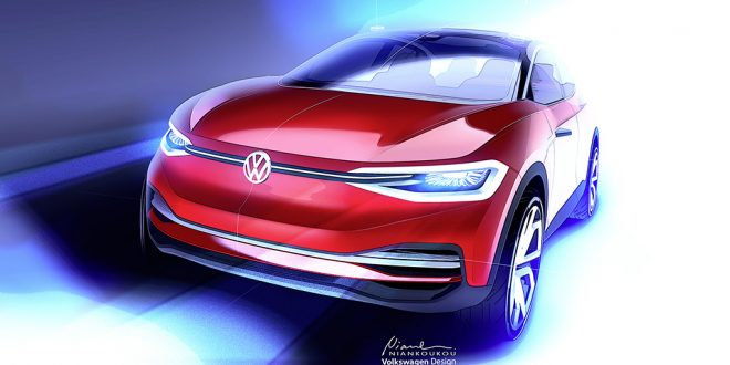Volkswagen I.D. Crozz Concept Coming For Round Two At Frankfurt