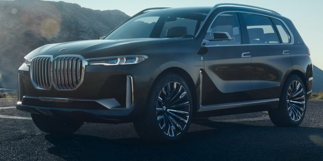 BMW X7 iPerformance Concept Previews New Flagship