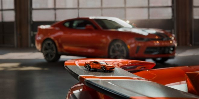 Chevrolet Brings Hot Wheels Camaro to Life