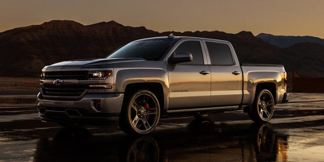 Chevrolet Supercharges Silverado for SEMA