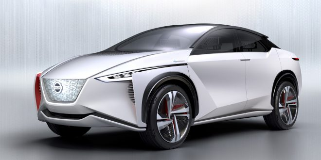 Nissan IMx Concept Previews Electric, Self-Driving Future