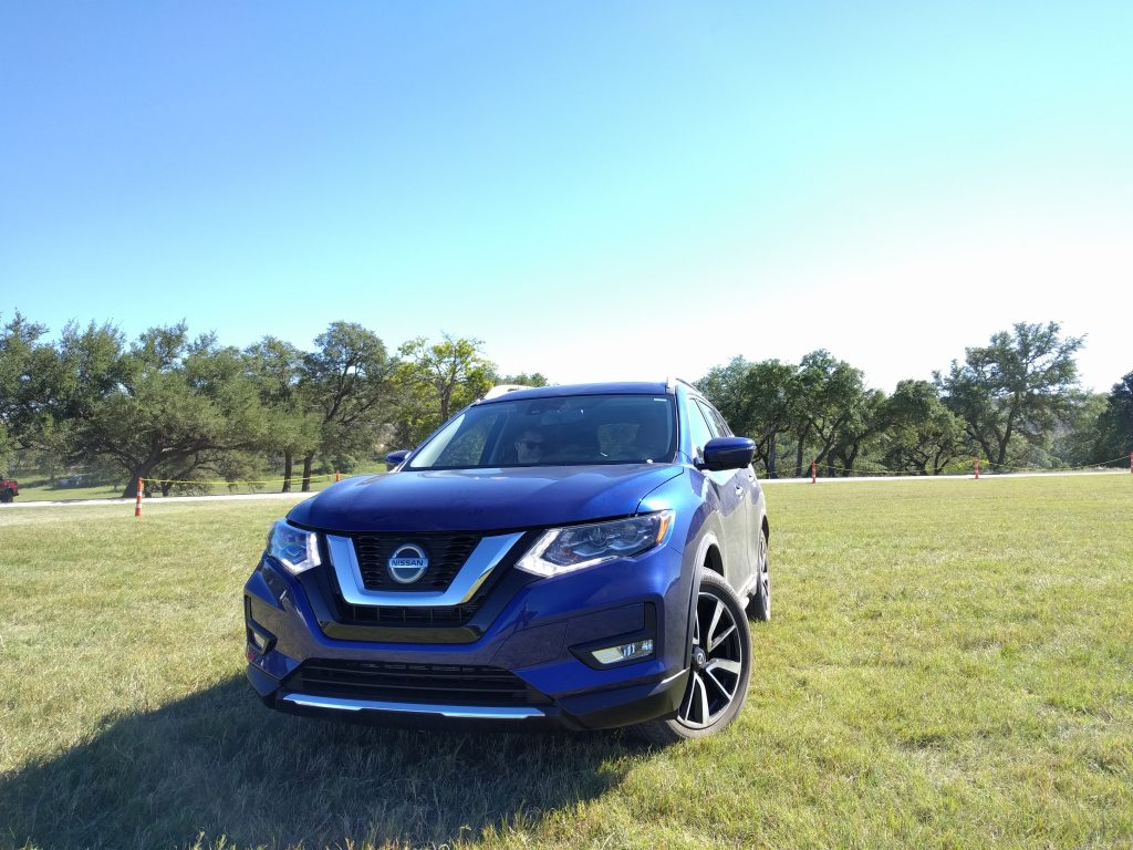 2018 Nissan Rogue with ProPilot Assist Self-Driving Tech