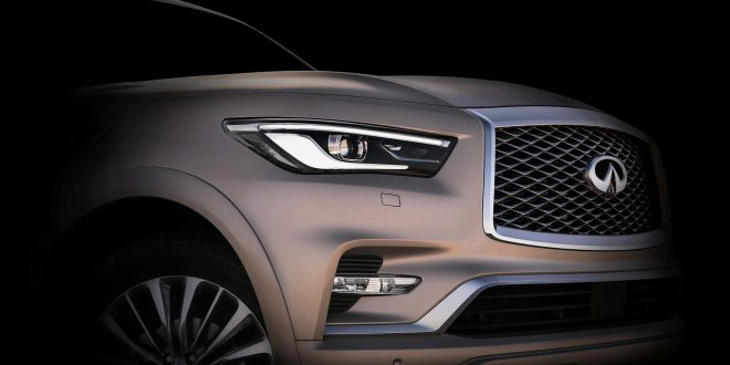 Infiniti Teases Upcoming Redesigned QX80