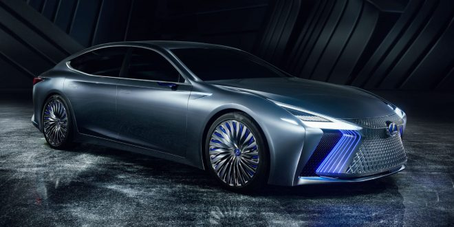 Lexus LS+ Concept Previews Brand's Future