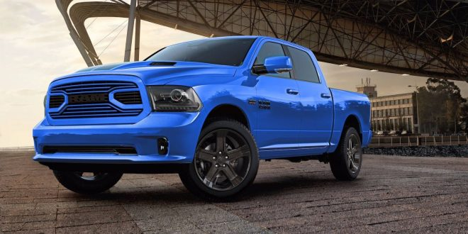 Standout Even More With The 2018 Ram 1500 Hydro Blue Sport Edition