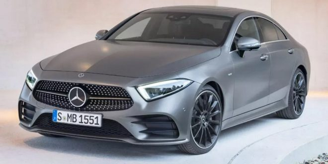 2019 Mercedes-Benz CLS Class Leaks Ahead of Tomorrow's Reveal