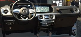 Next-Generation Mercedes-Benz G-Class Interior Leaks