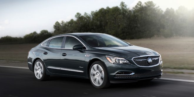 Buick Expands Avenir Sub-Brand With LaCrosse Avenir