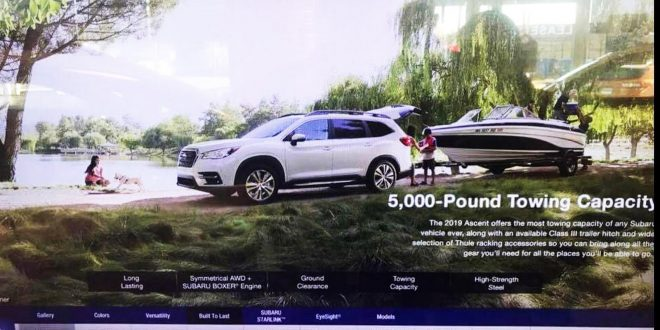 Here's the 2019 Subaru Ascent