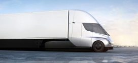 Tesla Semi Promises 500-mile Range, Self-Driving Tech