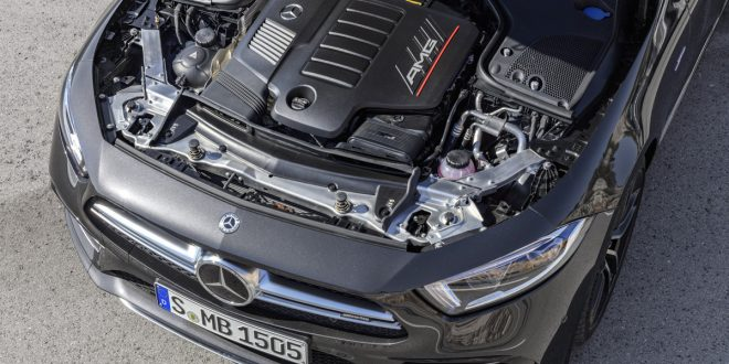 Mercedes is Straightening out its V6's