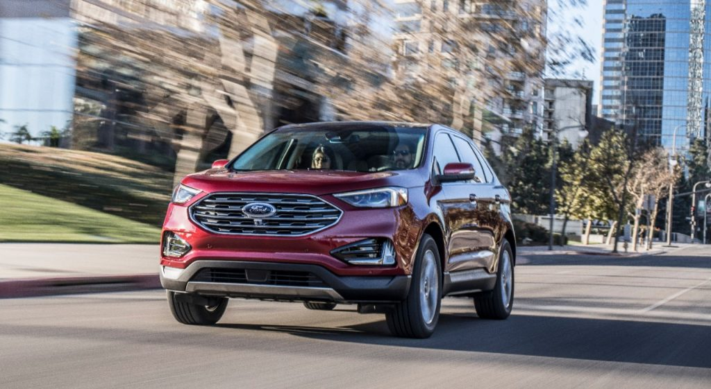 Ford Edge SUV Facelift REVEALED ahead of Detroit debut